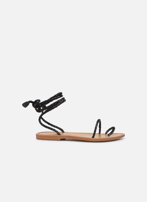 Sandales et nu-pieds White Sun Estrelicia Noir vue derrière