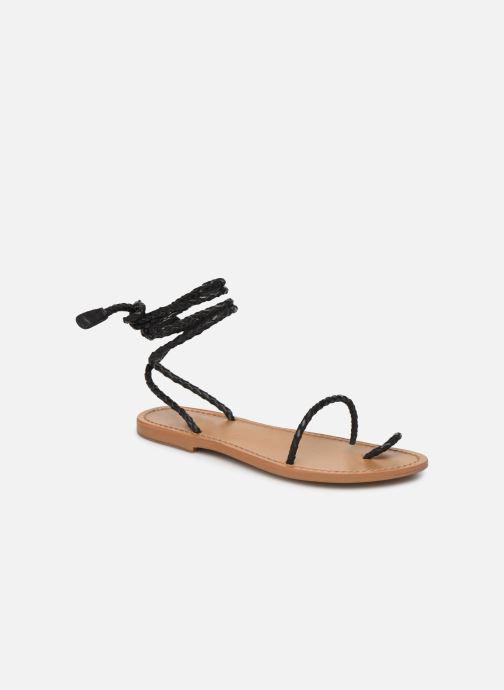 Sandales et nu-pieds White Sun Estrelicia Noir vue détail/paire