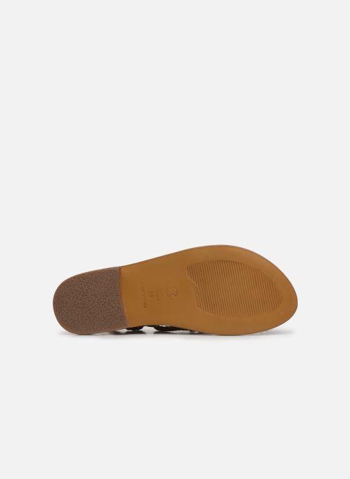 Sandales et nu-pieds White Sun Estrelicia Marron vue haut
