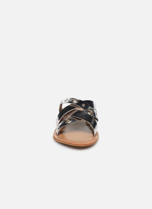 Mules et sabots White Sun Kamalaya Argent vue portées chaussures