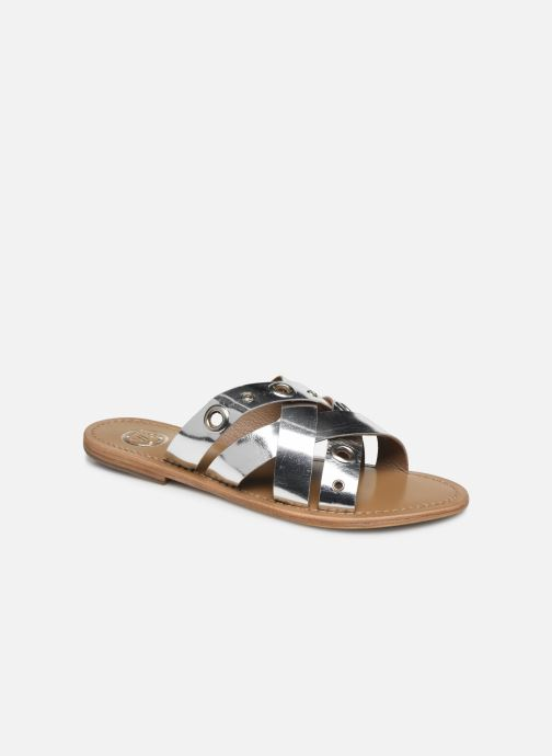 Mules & clogs White Sun Kamalaya Silver detailed view/ Pair view