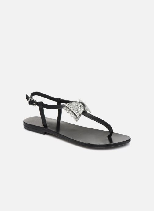 Sandales et nu-pieds White Sun Maitia Noir vue détail/paire