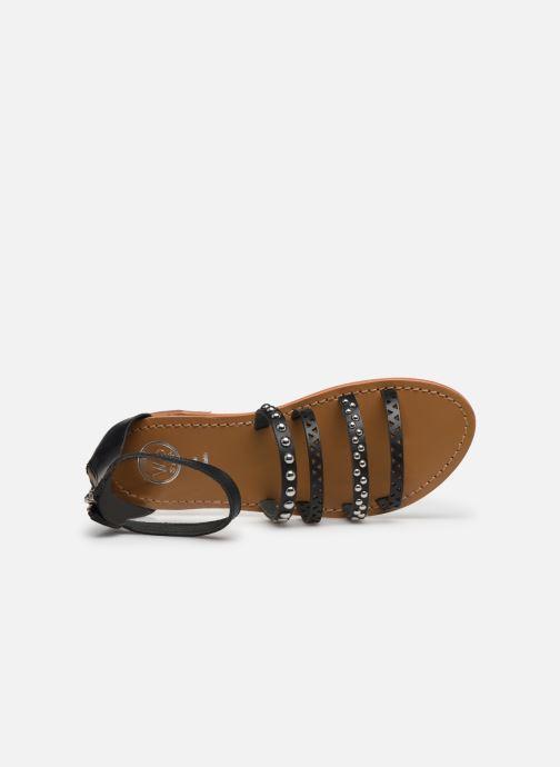 Sandali e scarpe aperte White Sun Fidena Nero immagine sinistra