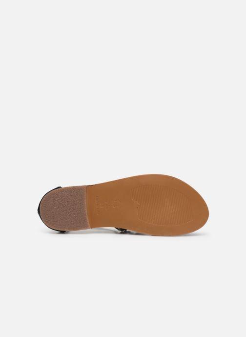Sandali e scarpe aperte White Sun Fidena Nero immagine dall'alto