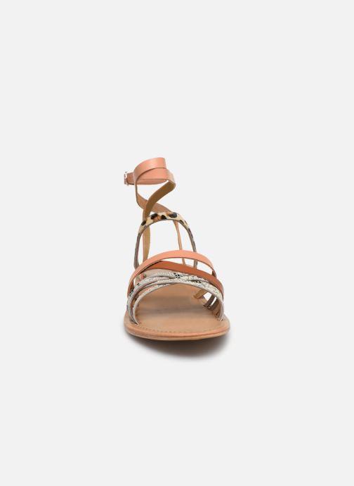 Sandales et nu-pieds White Sun Tresmeur Multicolore vue portées chaussures