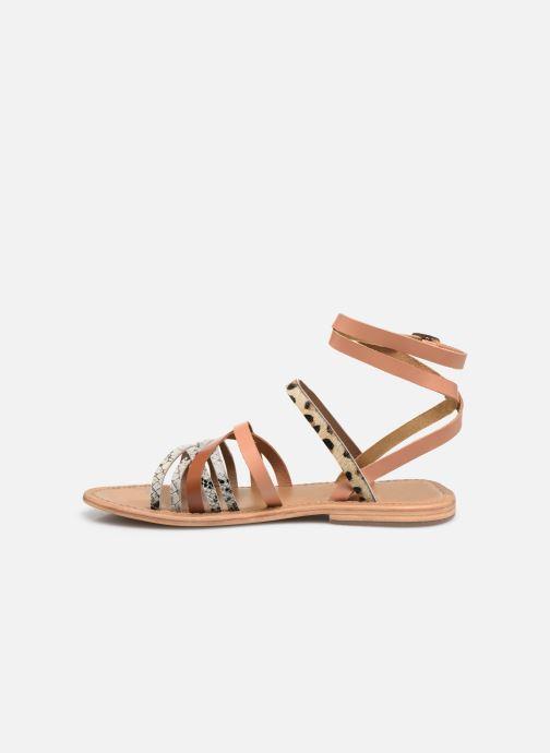 Sandales et nu-pieds White Sun Tresmeur Multicolore vue face