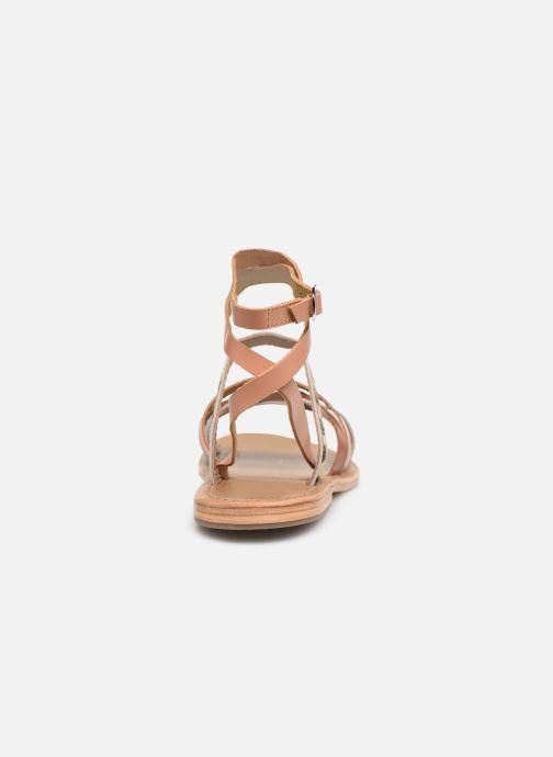 Sandales et nu-pieds White Sun Tresmeur Multicolore vue droite