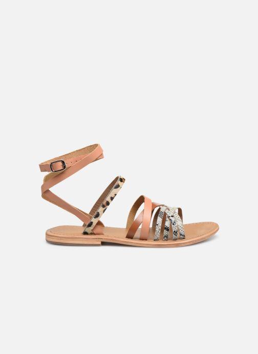 Sandales et nu-pieds White Sun Tresmeur Multicolore vue derrière