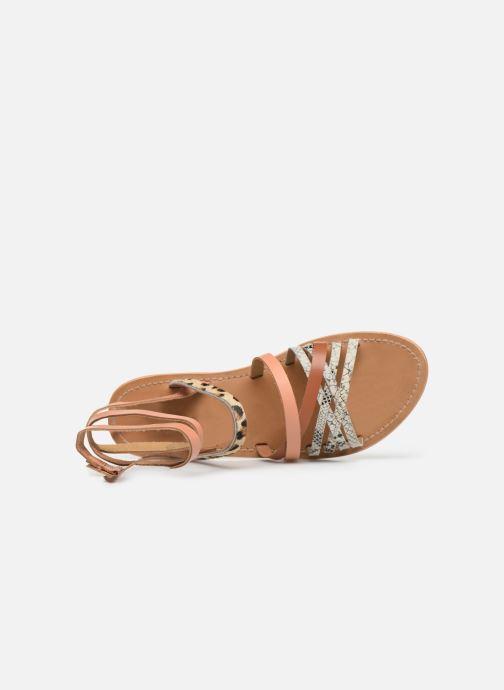 Sandales et nu-pieds White Sun Tresmeur Multicolore vue gauche