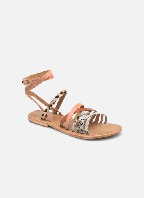 Sandales et nu-pieds White Sun Tresmeur Multicolore vue détail/paire