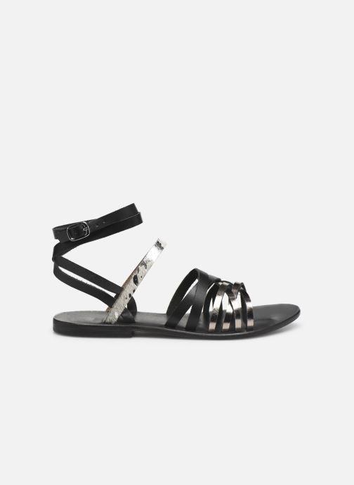 Sandales et nu-pieds White Sun Tresmeur Noir vue derrière