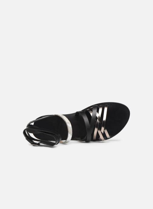 Sandales et nu-pieds White Sun Tresmeur Noir vue gauche