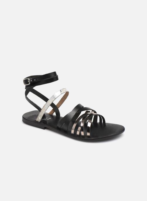 Sandales et nu-pieds White Sun Tresmeur Noir vue détail/paire