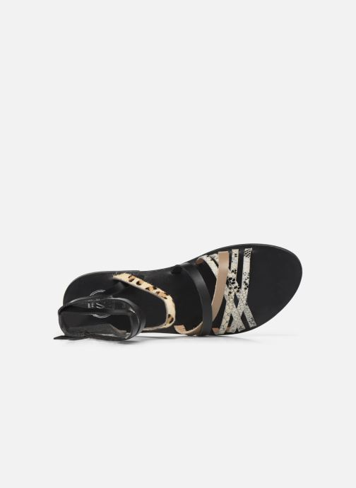 Sandals White Sun Tresmeur Multicolor view from the left