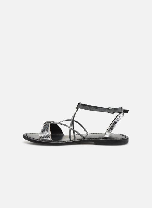 Sandali e scarpe aperte White Sun Editha Argento immagine frontale