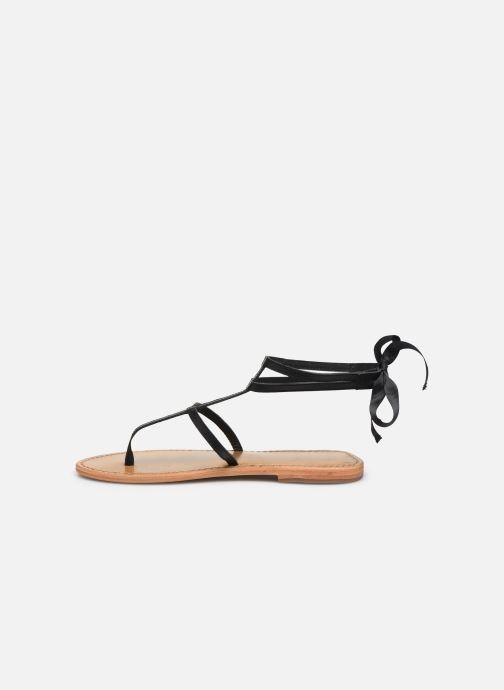 Sandales et nu-pieds White Sun Stipa Noir vue face
