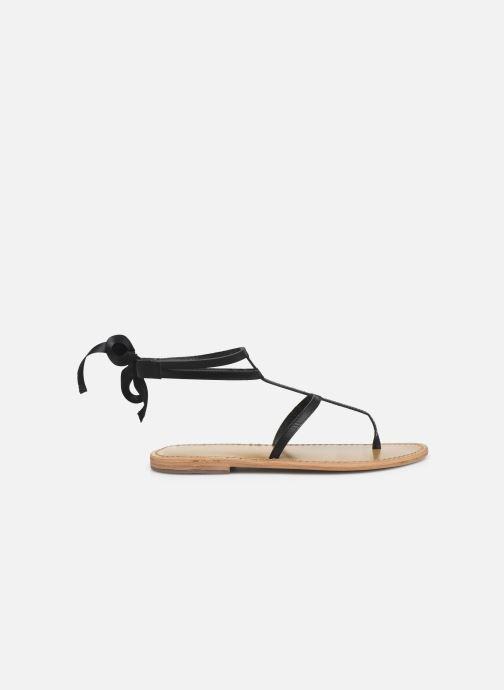 Sandales et nu-pieds White Sun Stipa Noir vue derrière