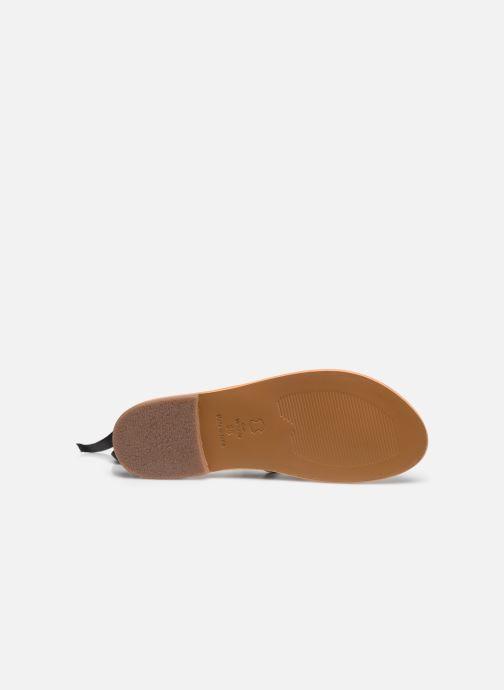 Sandales et nu-pieds White Sun Stipa Noir vue haut