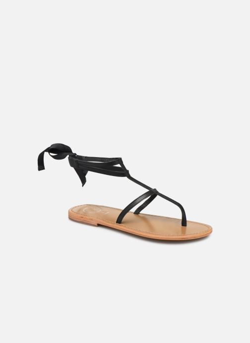 Sandales et nu-pieds White Sun Stipa Noir vue détail/paire