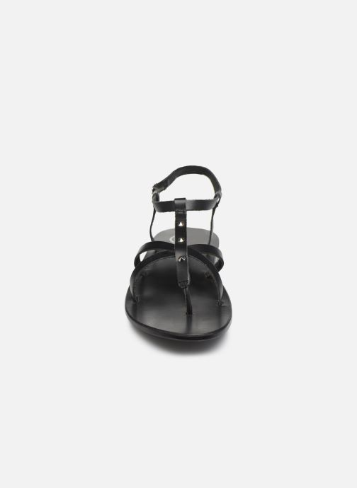 Sandalen White Sun Kerbihan schwarz schuhe getragen