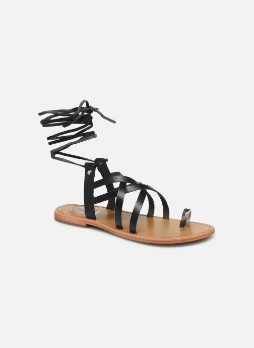 Sandalen White Sun Xalapa schwarz detaillierte ansicht/modell
