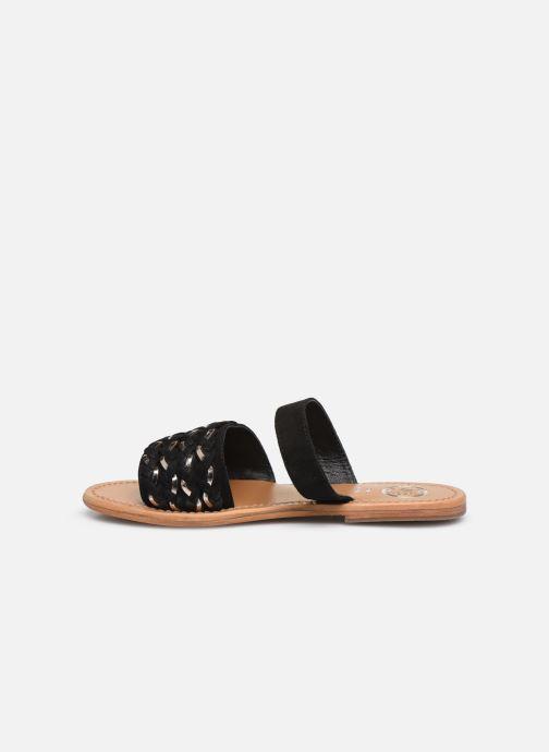 Clogs & Pantoletten White Sun Saura schwarz ansicht von vorne