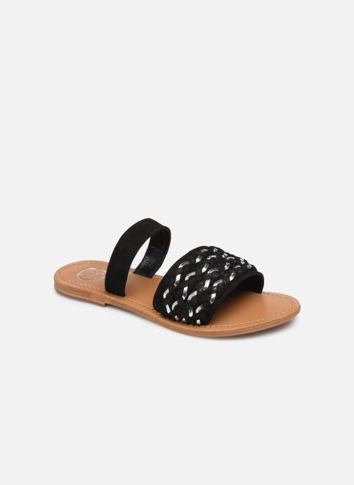 Clogs & Pantoletten White Sun Saura schwarz detaillierte ansicht/modell
