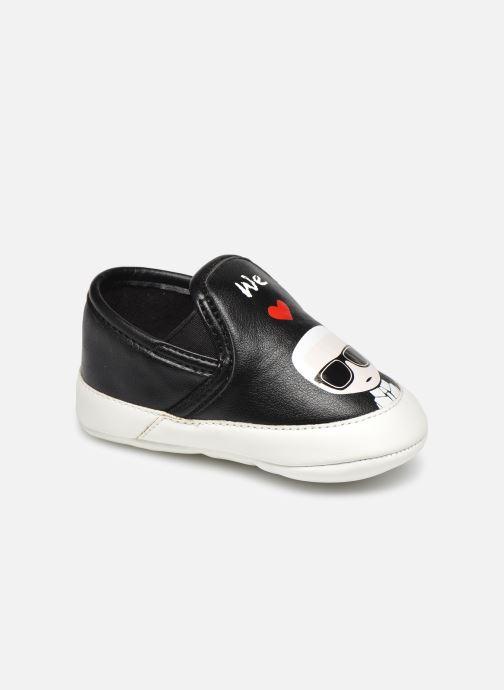 Chaussons Karl Lagerfeld Z99005 Noir vue détail/paire