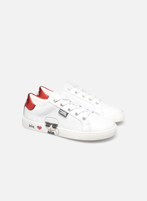 Sneakers Karl Lagerfeld Z19037 Bianco immagine 3/4