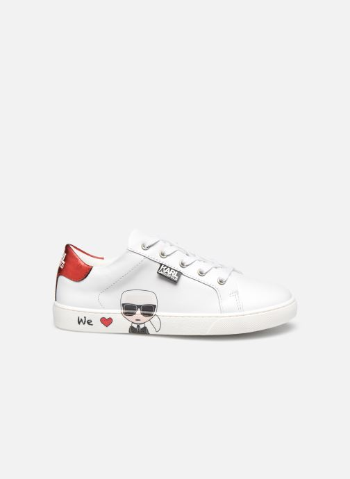 Sneakers Karl Lagerfeld Z19037 Bianco immagine posteriore