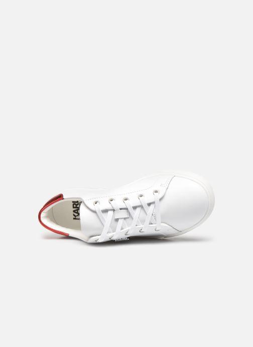 Deportivas Karl Lagerfeld Z19037 Blanco vista lateral izquierda