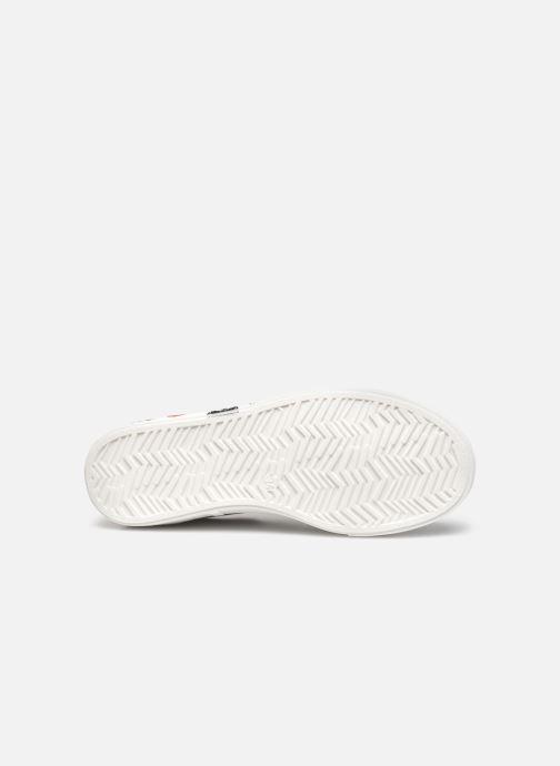 Deportivas Karl Lagerfeld Z19037 Blanco vista de arriba