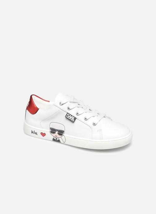 Deportivas Karl Lagerfeld Z19037 Blanco vista de detalle / par