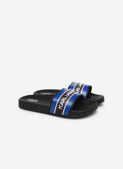 Sandales et nu-pieds Karl Lagerfeld Z29021 Noir vue 3/4