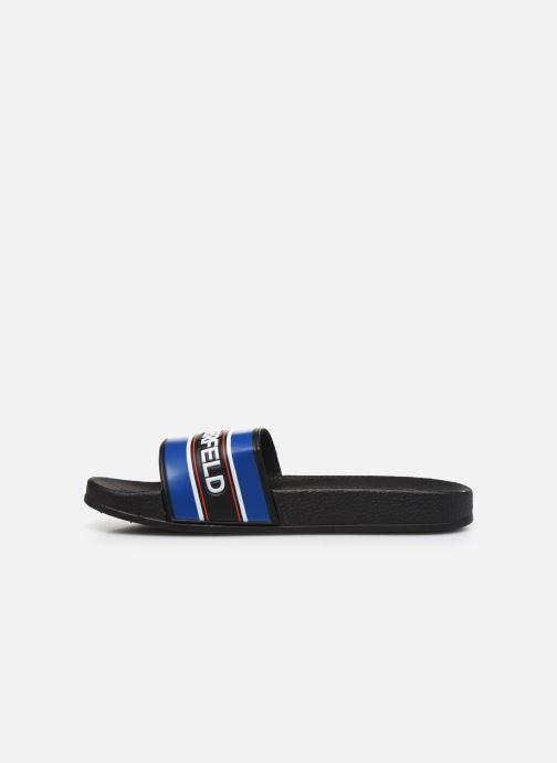 Sandales et nu-pieds Karl Lagerfeld Z29021 Noir vue face