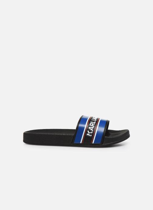 Sandales et nu-pieds Karl Lagerfeld Z29021 Noir vue derrière