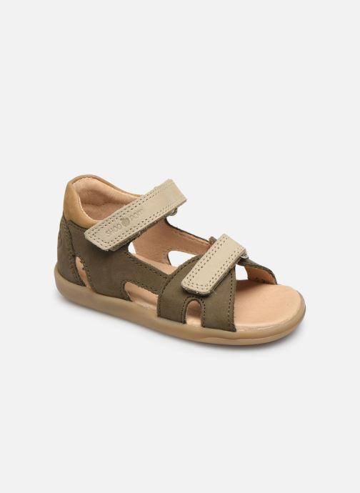 Sandales et nu-pieds Shoo Pom Pika Shoo Vert vue détail/paire