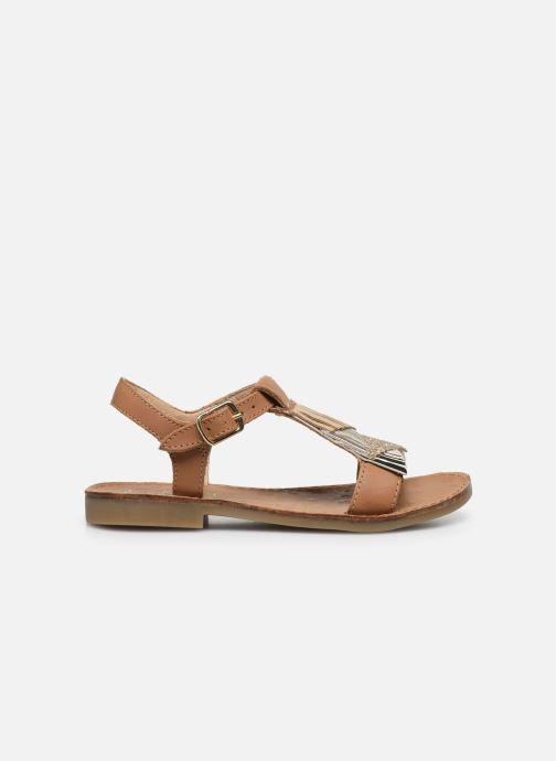 Sandales et nu-pieds Shoo Pom Happy Falls Marron vue derrière