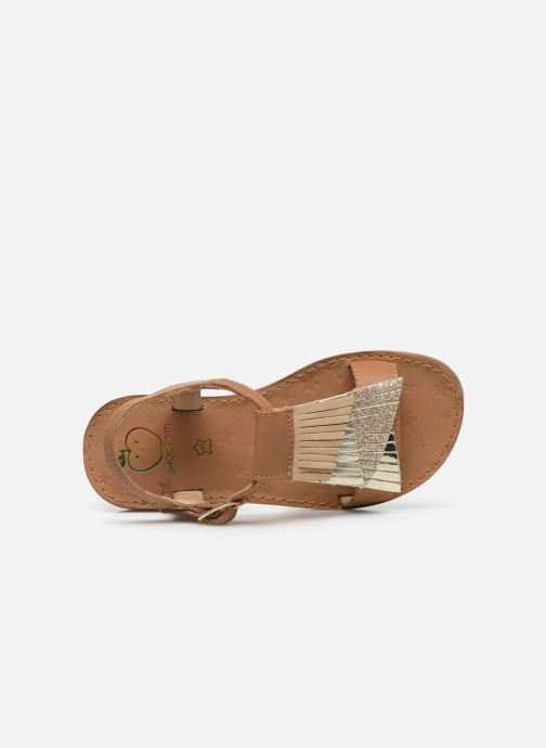 Sandales et nu-pieds Shoo Pom Happy Falls Marron vue gauche