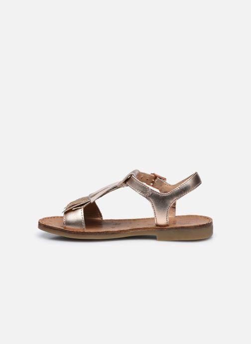 Sandales et nu-pieds Shoo Pom Happy Falls Argent vue face