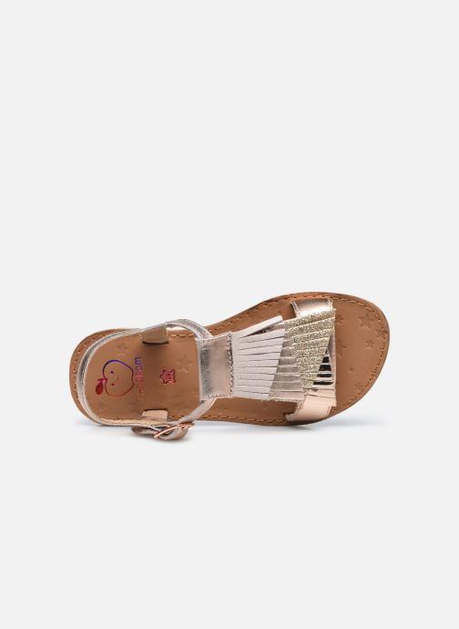 Sandales et nu-pieds Shoo Pom Happy Falls Argent vue gauche