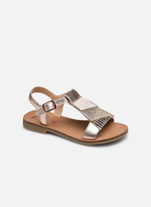 Sandales et nu-pieds Shoo Pom Happy Falls Argent vue détail/paire