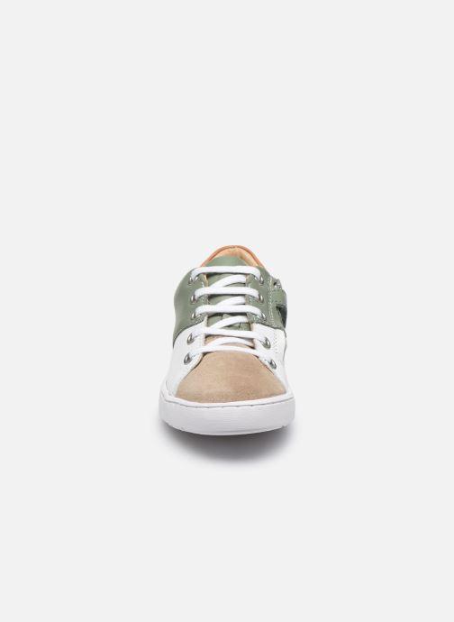 Baskets Shoo Pom Play Roc Zip Vert vue portées chaussures