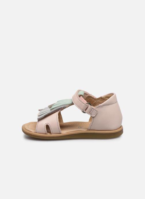 Sandales et nu-pieds Shoo Pom Tity Falls Rose vue face