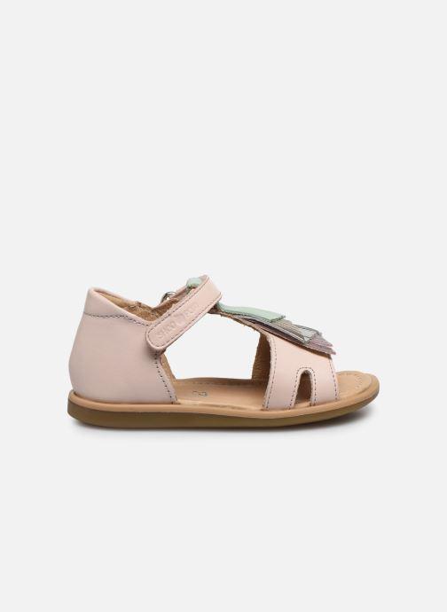 Sandales et nu-pieds Shoo Pom Tity Falls Rose vue derrière