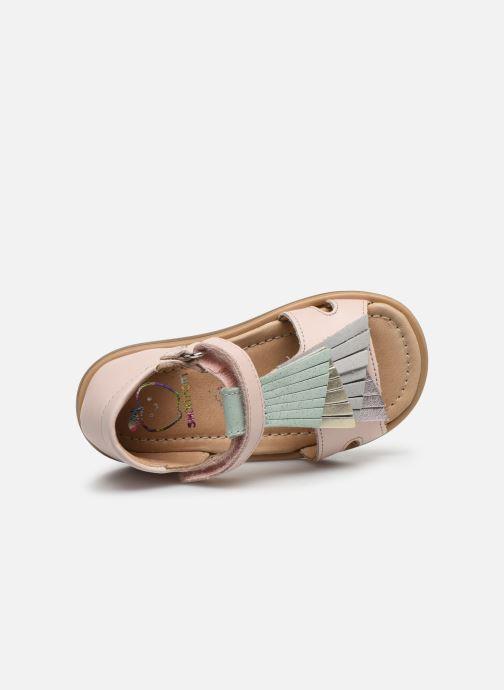 Sandales et nu-pieds Shoo Pom Tity Falls Rose vue gauche