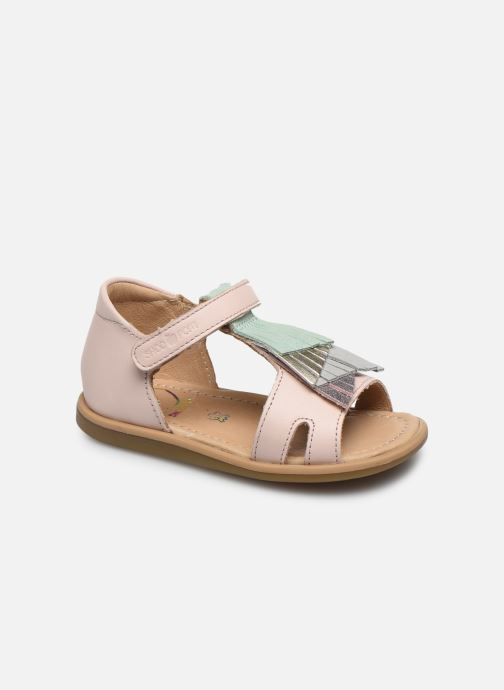 Sandales et nu-pieds Shoo Pom Tity Falls Rose vue détail/paire