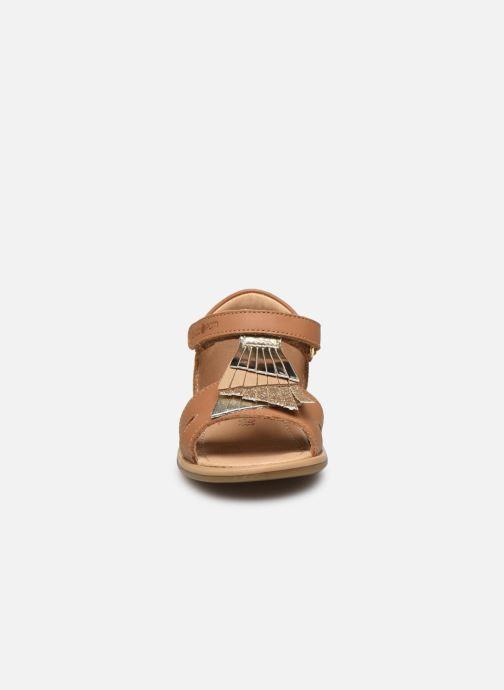 Sandales et nu-pieds Shoo Pom Tity Falls Marron vue portées chaussures