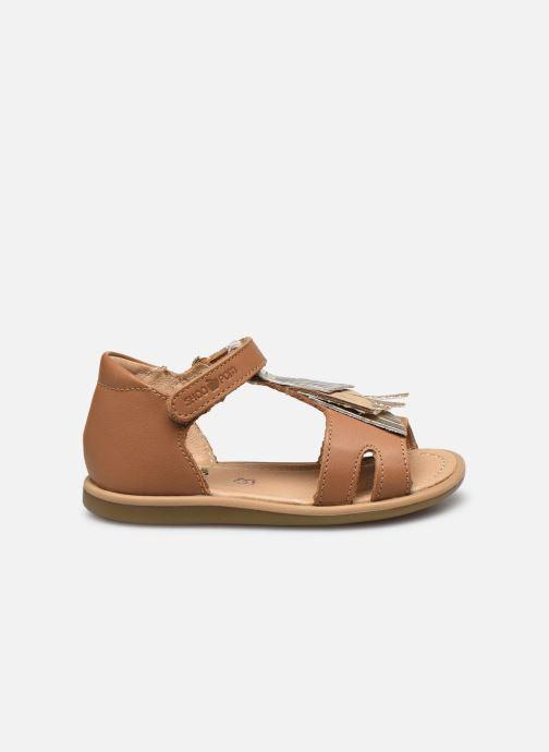 Sandales et nu-pieds Shoo Pom Tity Falls Marron vue derrière