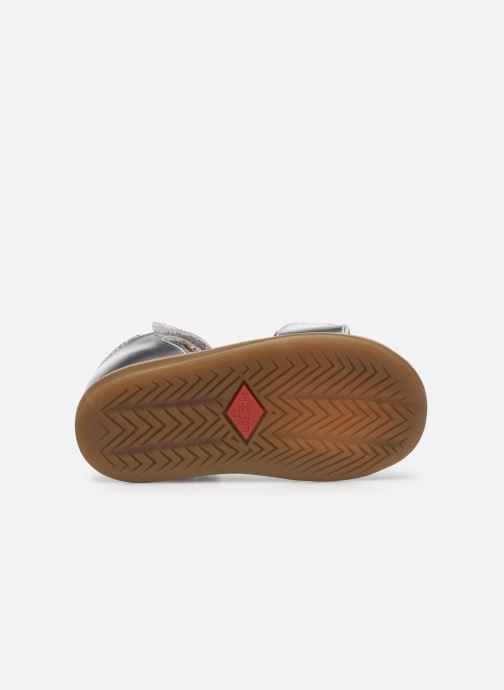 Sandales et nu-pieds Shoo Pom Tity Heart Argent vue haut